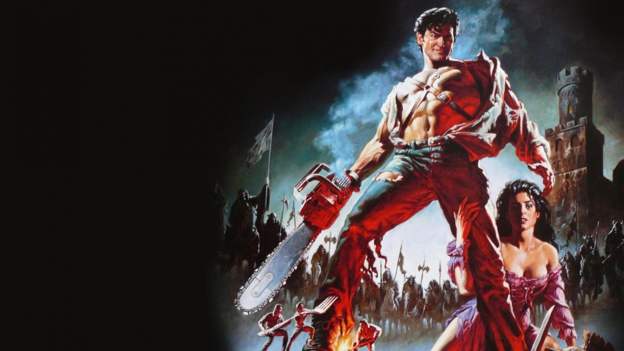 ARMY OF DARKNESS dark horror    f wallpaper