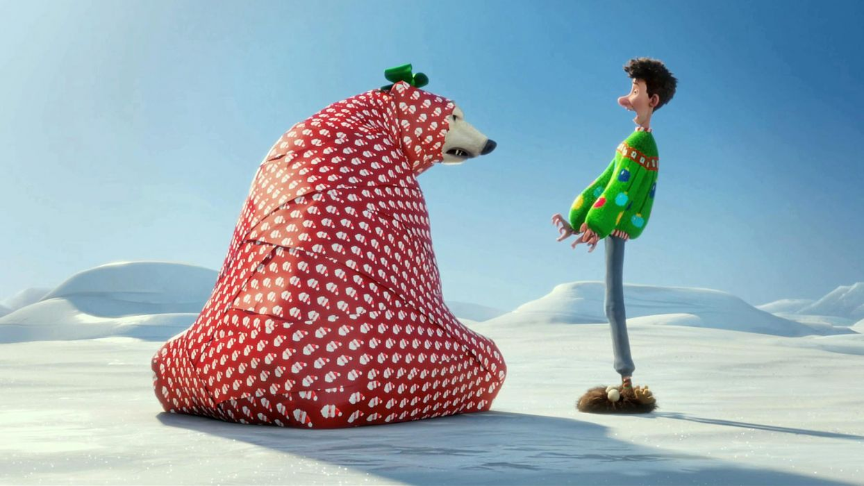 ARTHUR CHRISTMAS holiday d wallpaper