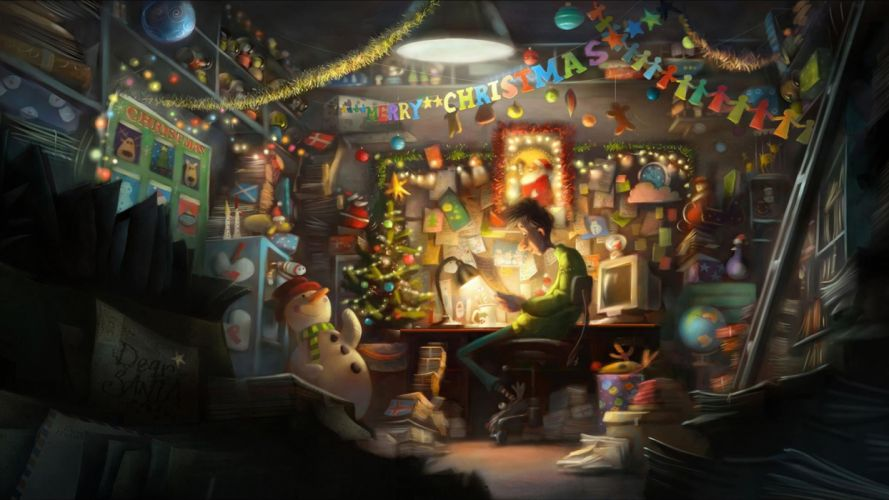 ARTHUR CHRISTMAS holiday f wallpaper