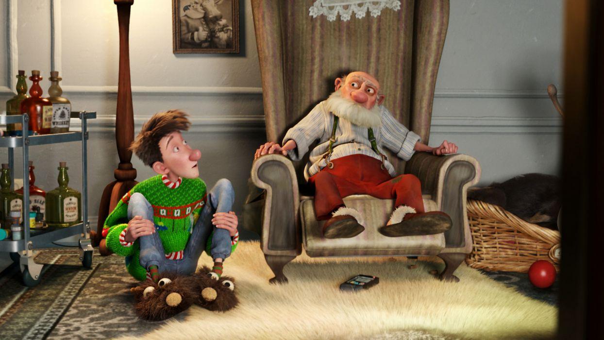 ARTHUR CHRISTMAS holiday santa wallpaper