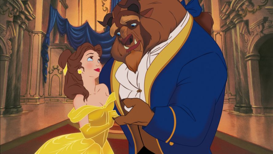 BEAUTY AND THE BEAST disney f wallpaper