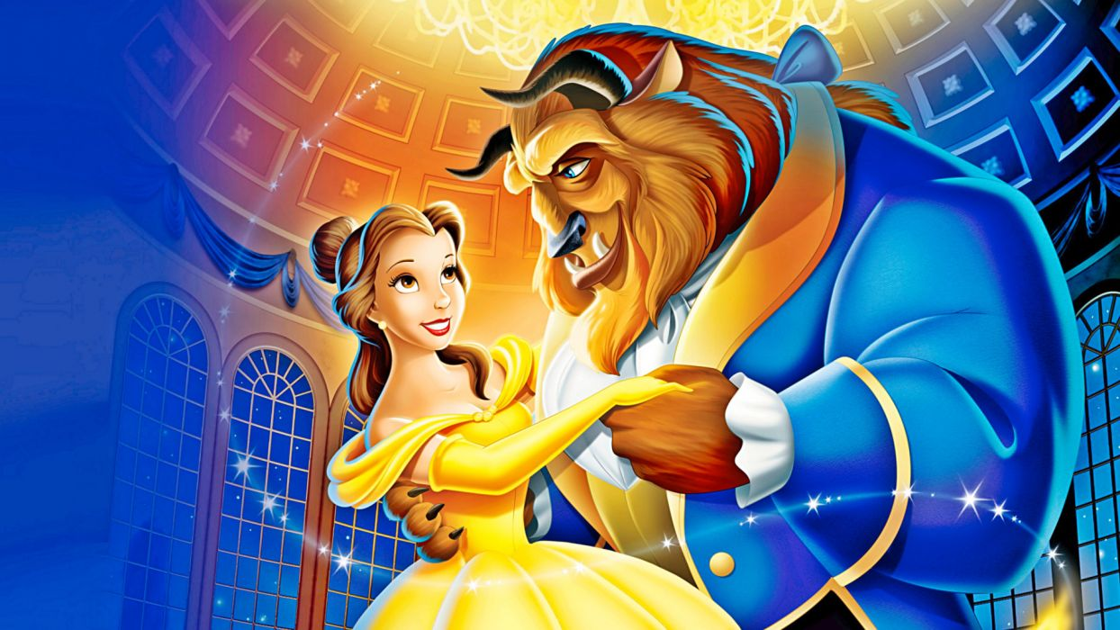 BEAUTY AND THE BEAST disney wallpaper