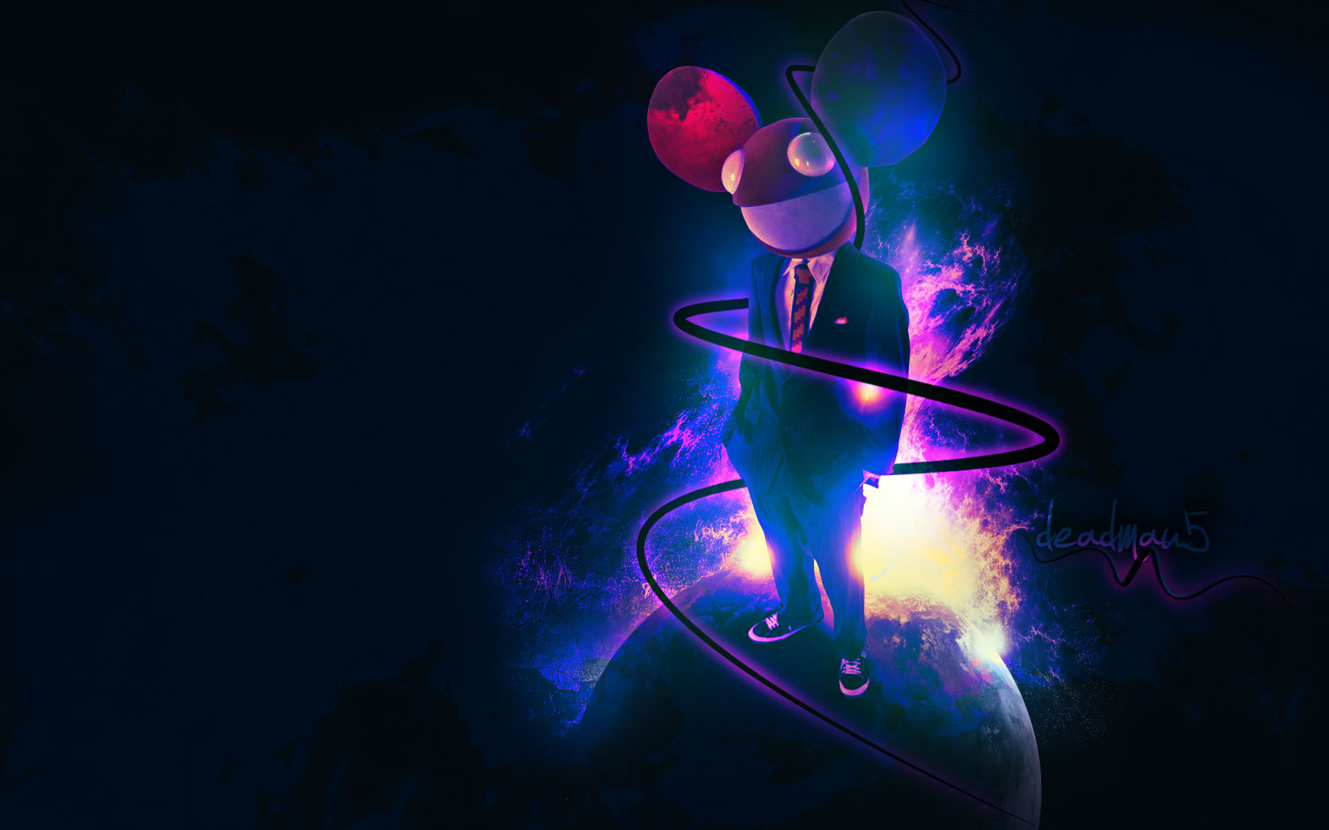 Deadmau5 dead mouse music wallpaper 1920x1200 101502 Nice house music