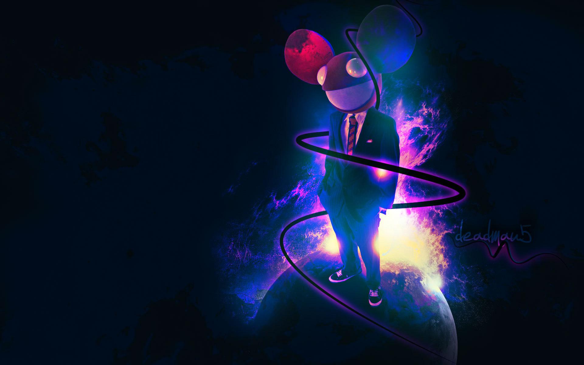 deadmau5 dead mouse music wallpaper 1920x1200 101502