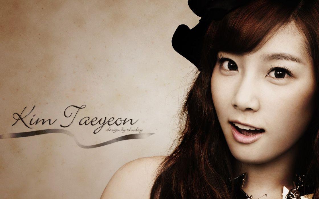 SNSD Girls Generation Kpop South Korea music girl asian TaeYeon k-pop wallpaper
