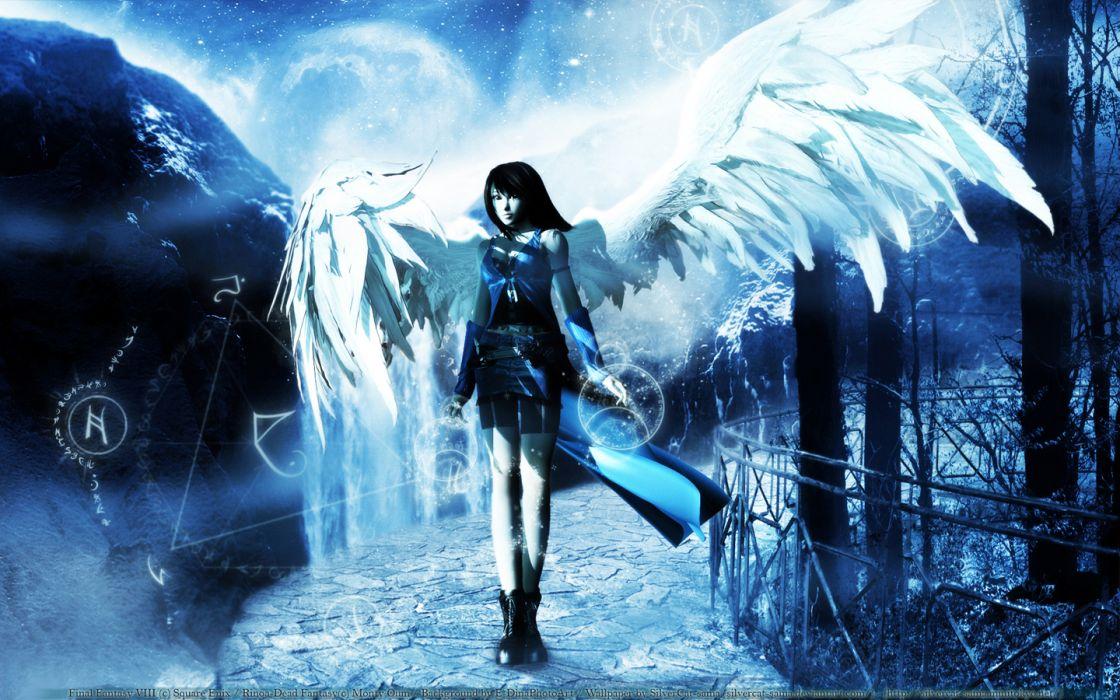 Final Fantasy VIII Rinoa Heartilly wallpaper