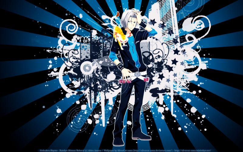 Katekyo Hitman Reborn Uri Hayato Gokudera wallpaper