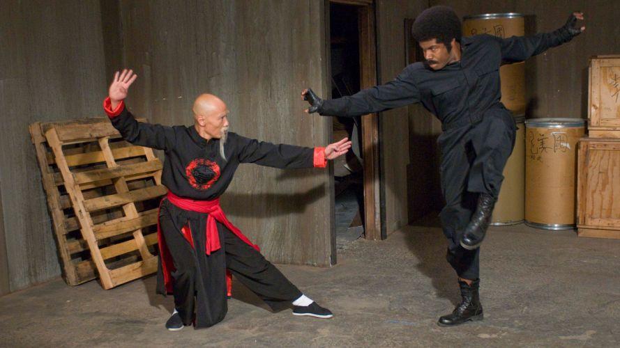 BLACK DYNAMITE 2011 martial arts f wallpaper