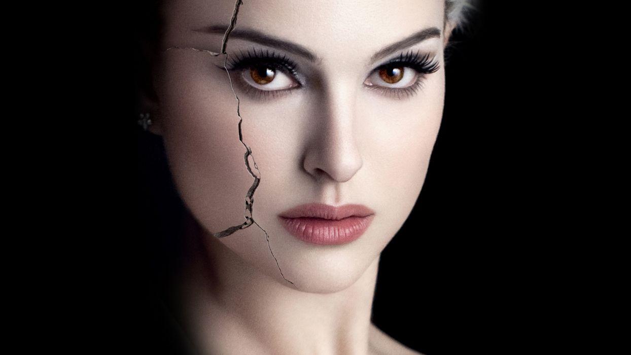 BLACK SWAN Natalie Portman dark wallpaper