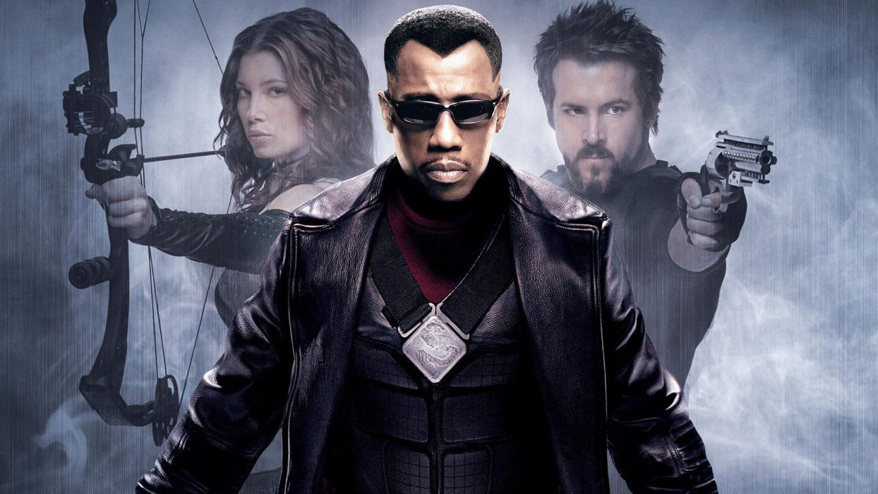 BLADE TRINITY wesley snipes wallpaper