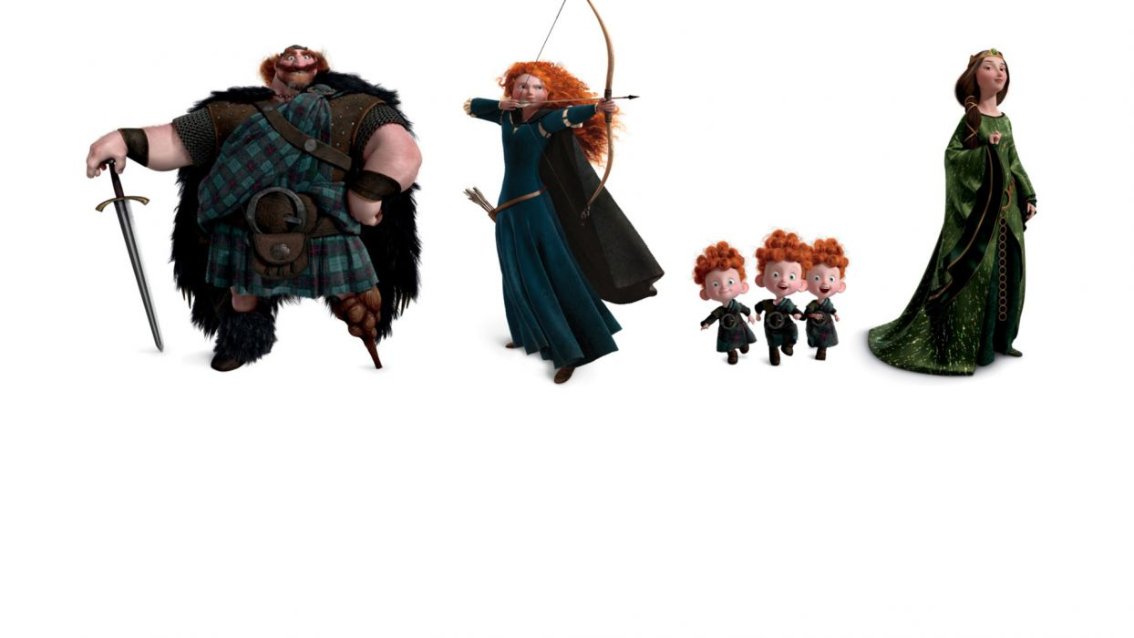 Brave princess merida f wallpaper