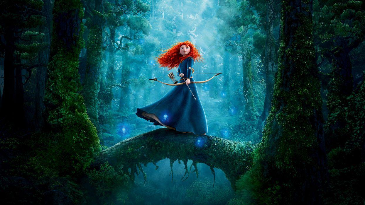 Brave princess merida wallpaper