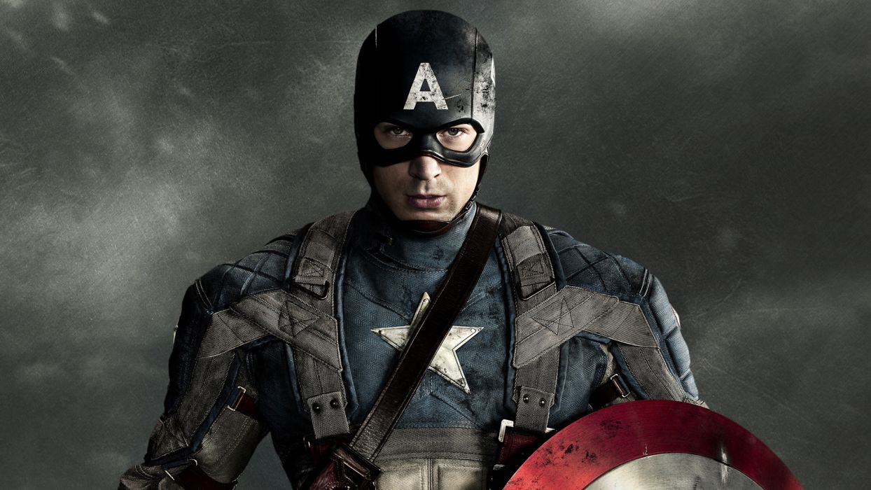CAPTAIN AMERICA THE FIRST AVENGER superhero     d wallpaper