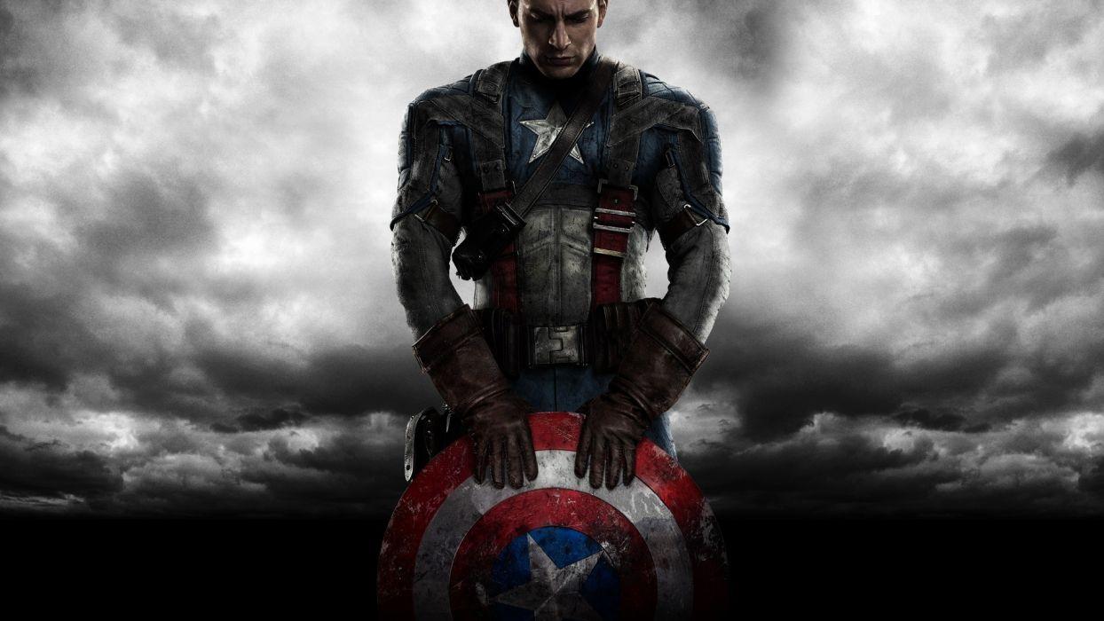 CAPTAIN AMERICA THE FIRST AVENGER superhero     ds wallpaper