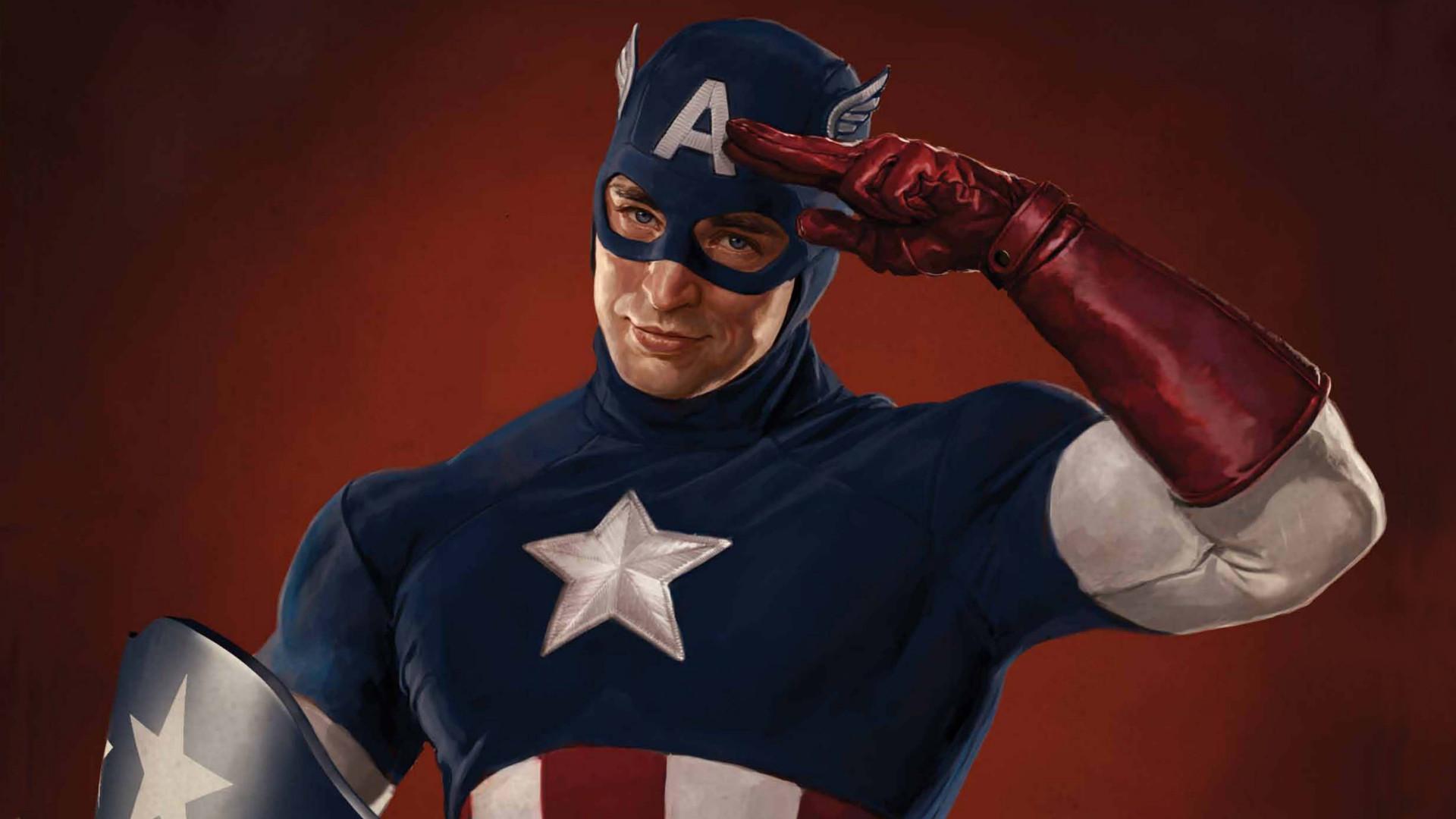 Captain America The First Avenger Superhero F Wallpaper
