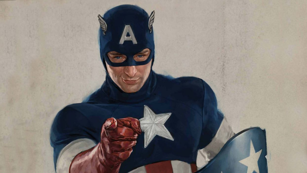 CAPTAIN AMERICA THE FIRST AVENGER superhero    f wallpaper