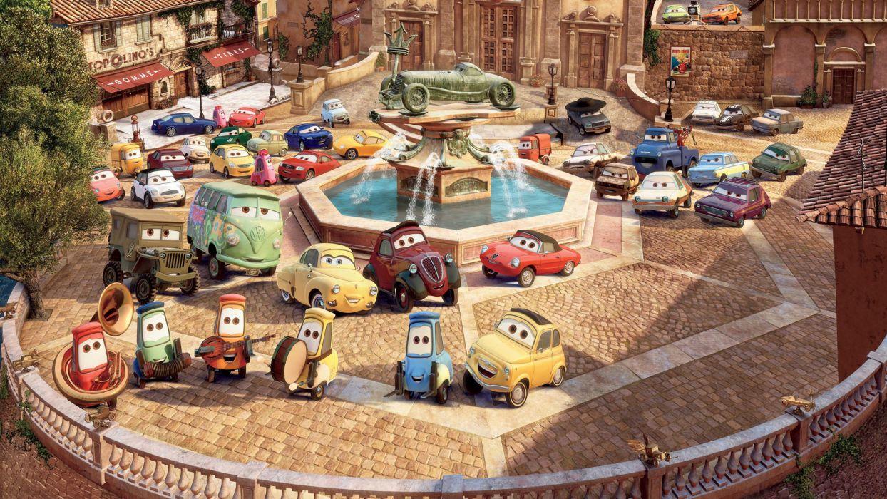 CARS 2 w wallpaper