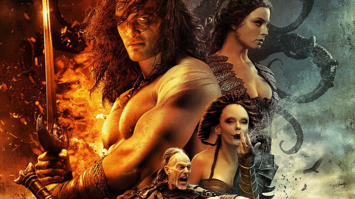 CONAN THE BARBARIAN fantasy wallpaper