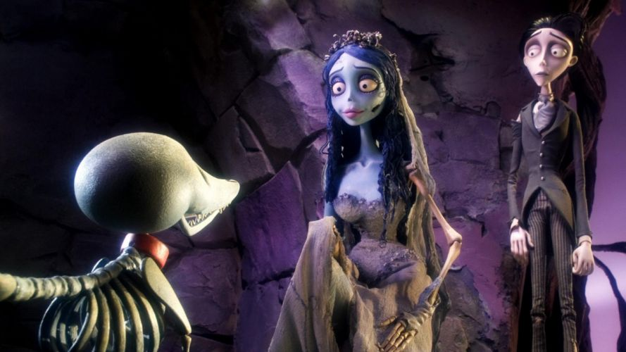 CORPSE BRIDE halloween dark f wallpaper