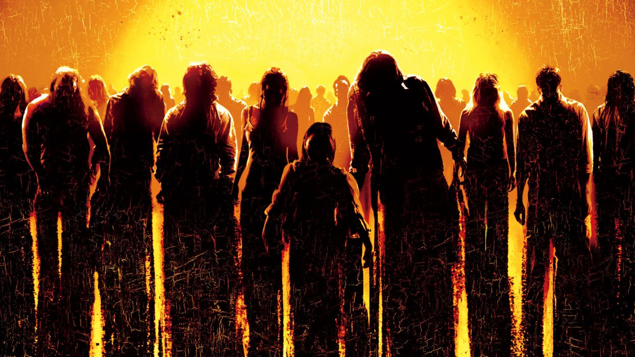 DAWN OF THE DEAD dark zombie wallpaper