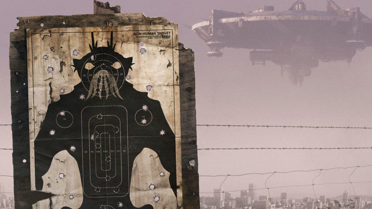 DISTRICT 9 sci-fi alien wallpaper