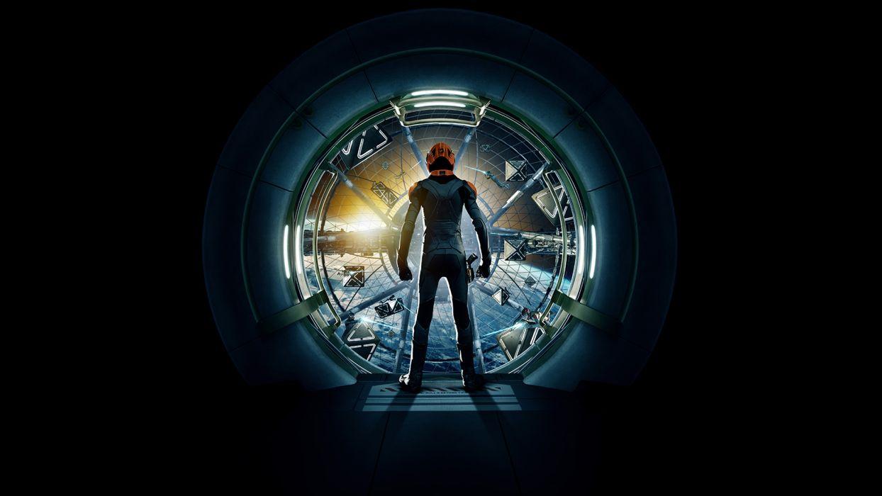 ENDERS GAME sci-fi wallpaper
