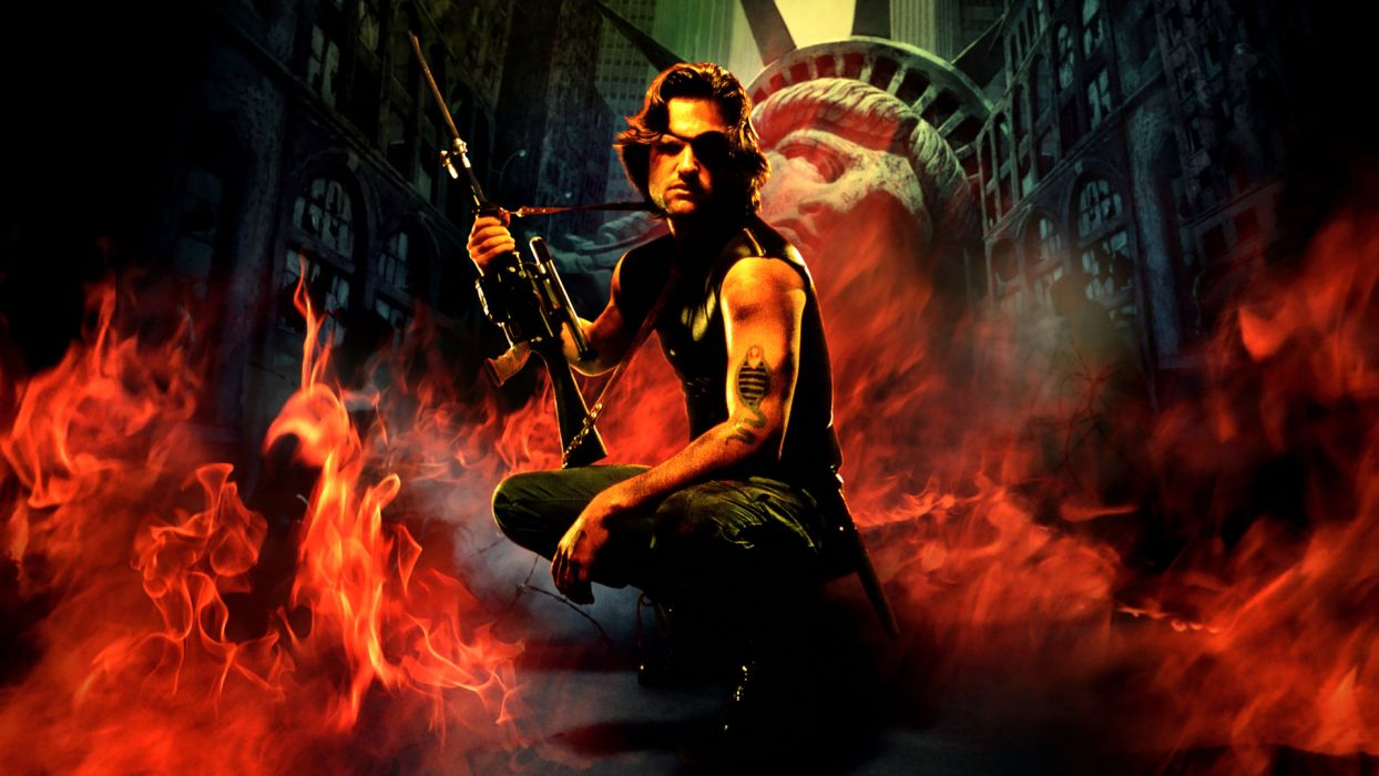 ESCAPE FROM NEW YORK fire weapon wallpaper