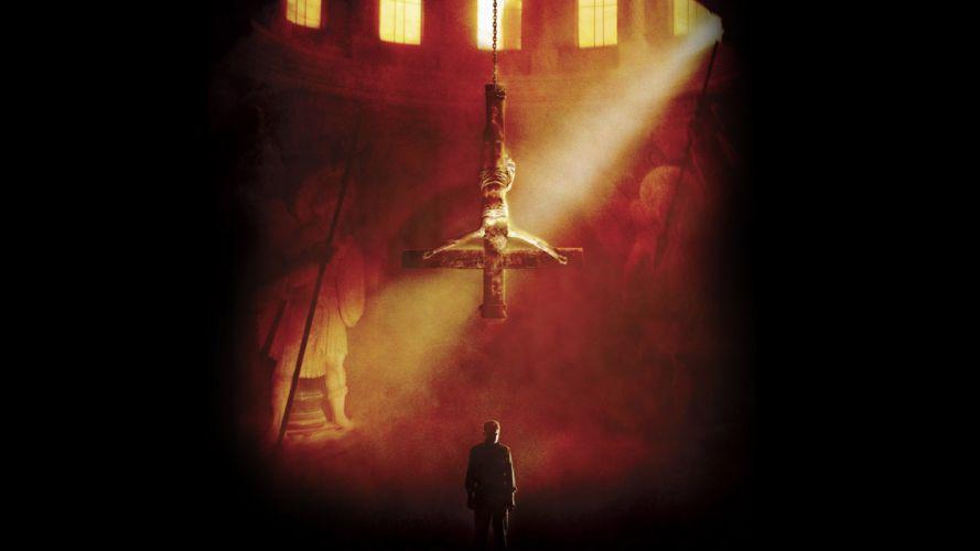 EXORCIST THE BEGINNING dark horror satanic occult evil wallpaper