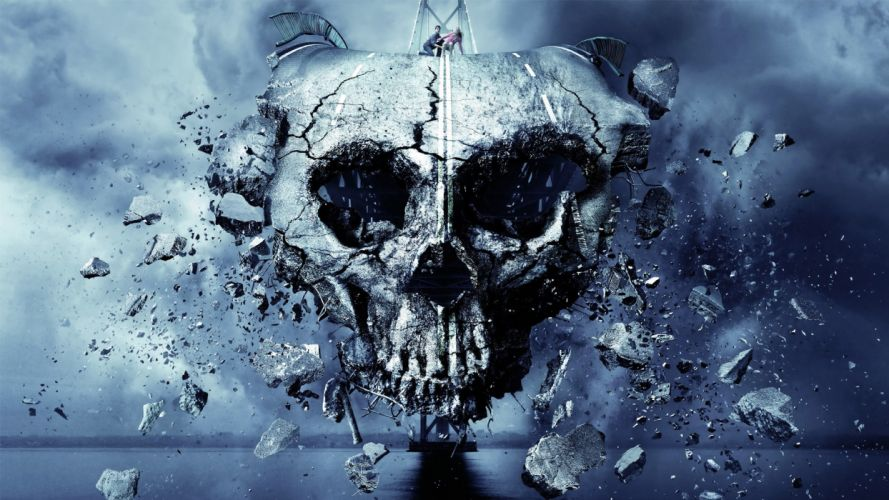 FINAL DESTINATION 5 dark skull skulls horror wallpaper