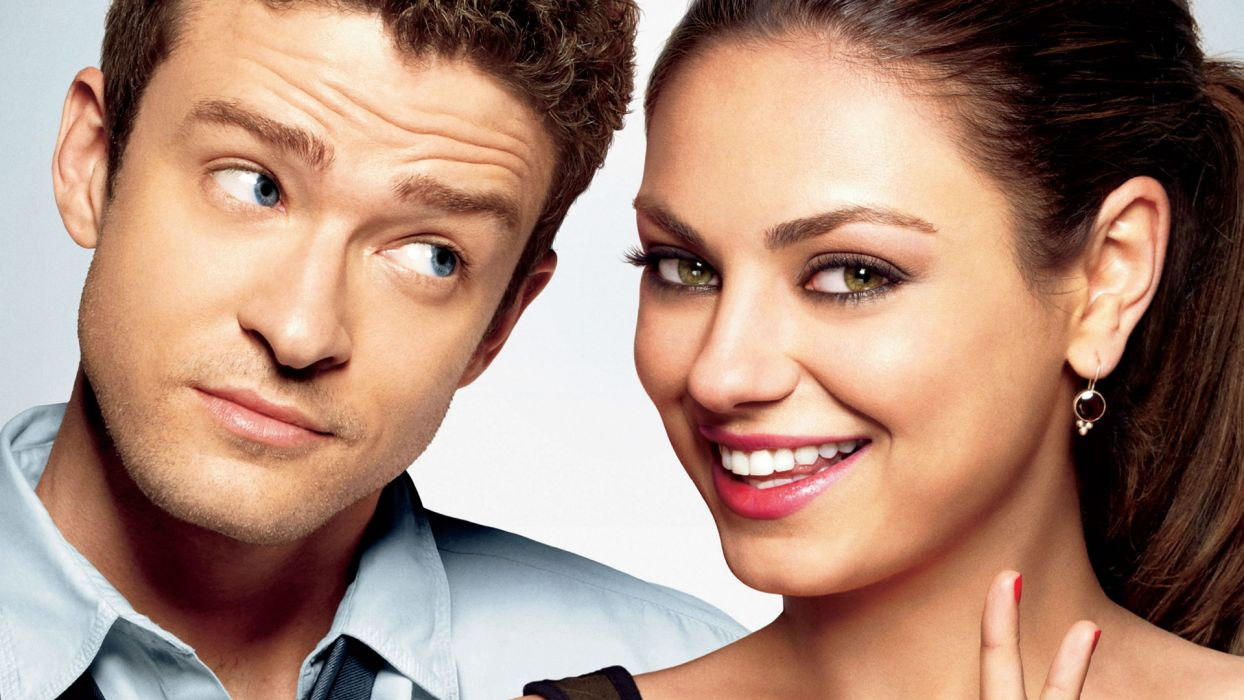 FRIENDS WITH BENEFITS mila kunis justin timberlake wallpaper