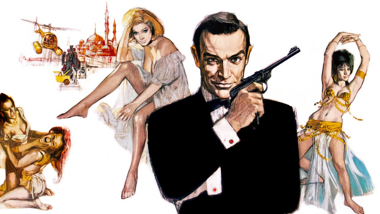 FROM RUSSIA WITH LOVE james bond 007 wallpaper