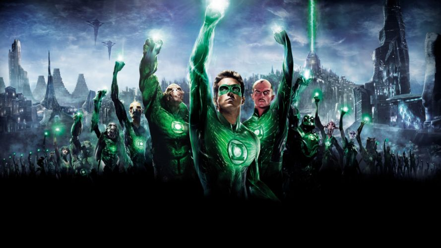 GREEN LANTERN superhero wallpaper