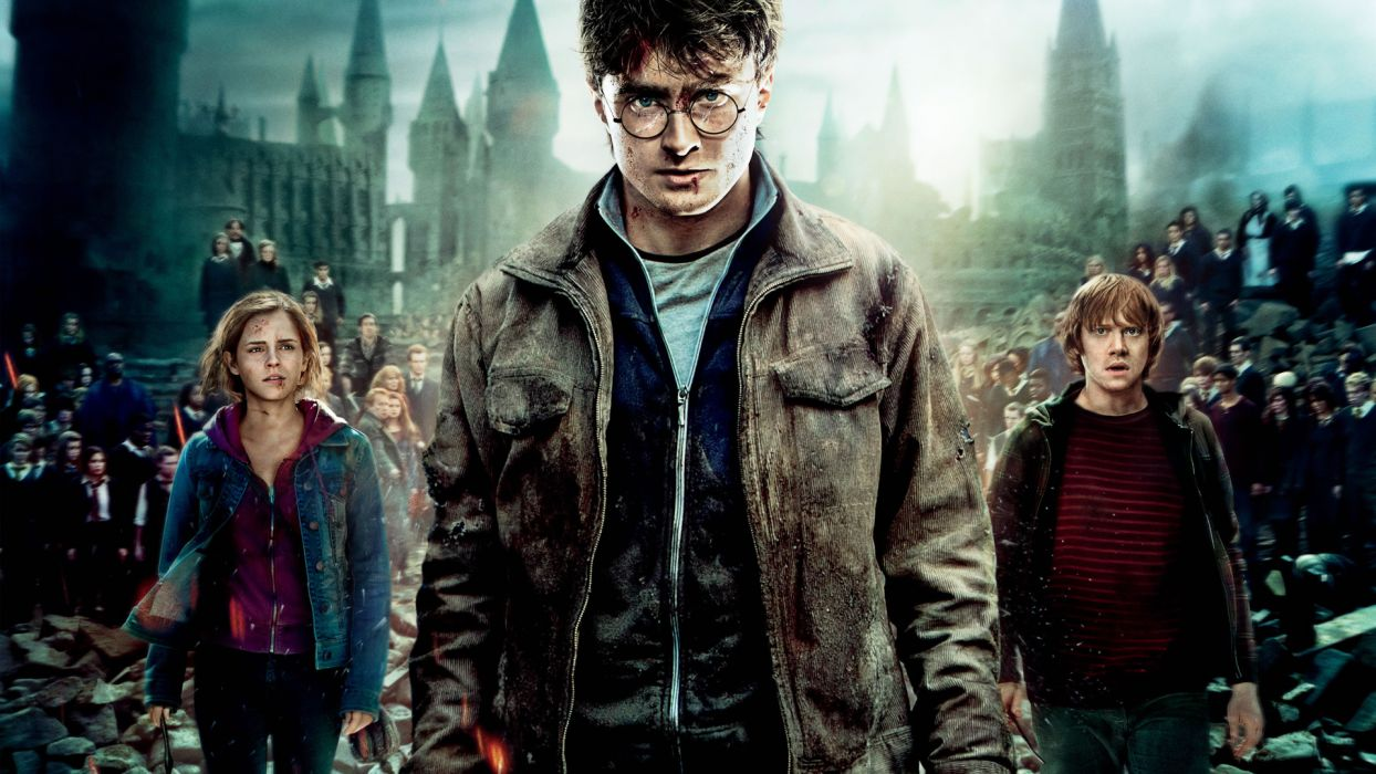 HARRY POTTER DEATHLY HALLOWS r wallpaper