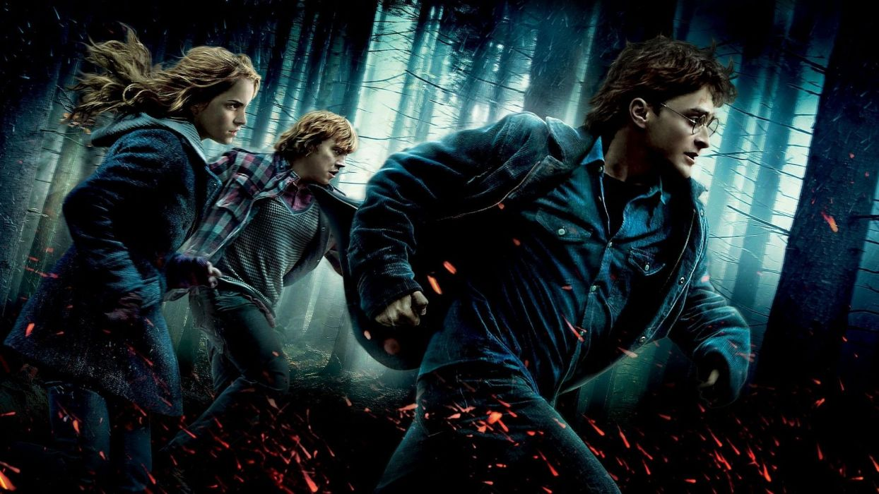 HARRY POTTER DEATHLY HALLOWS t wallpaper