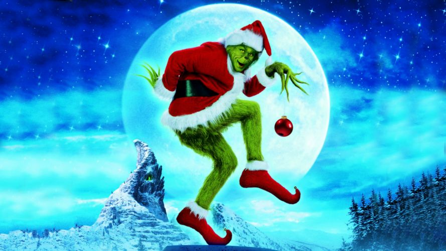 HOW THE GRINCH STOLE CHRISTMAS d wallpaper