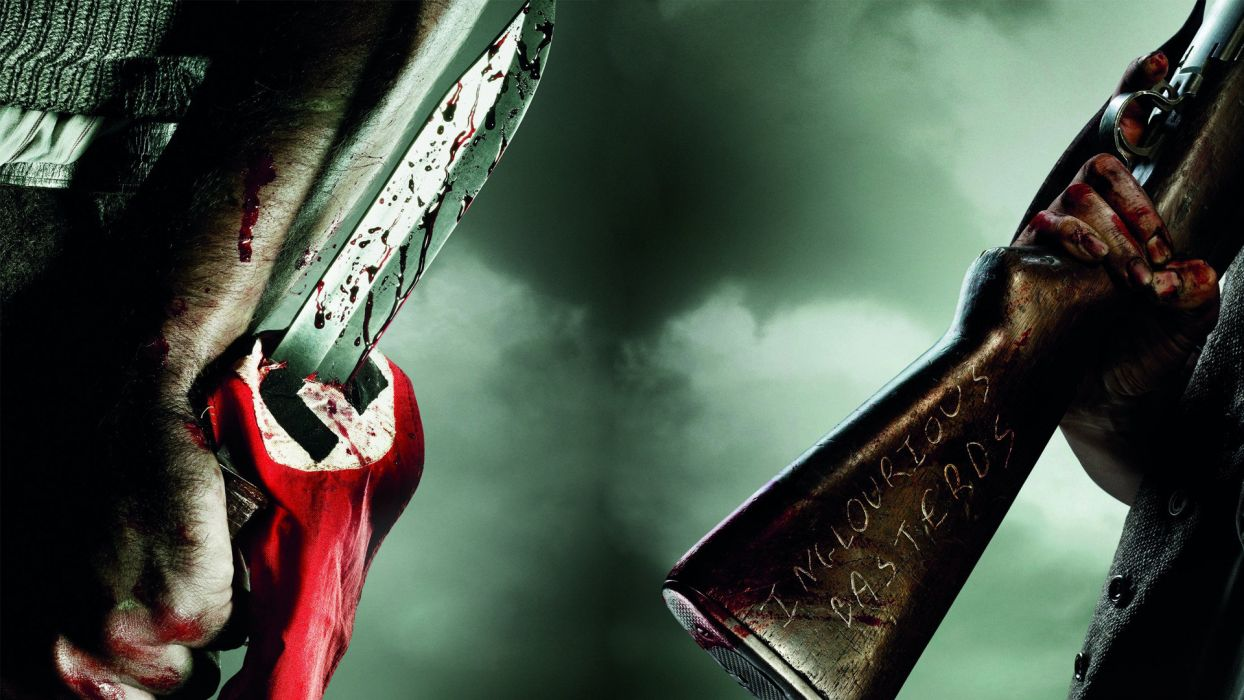 INGLOURIOUS BASTERDS blood wallpaper