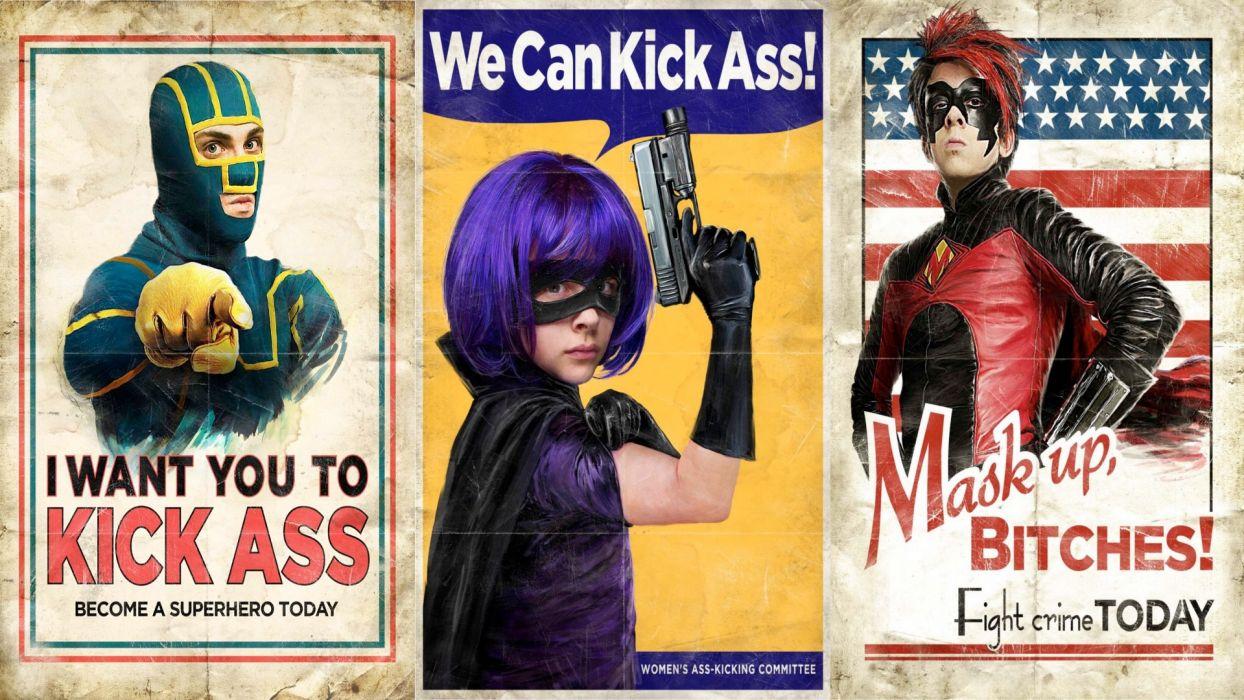 KICK ASS superhero r wallpaper