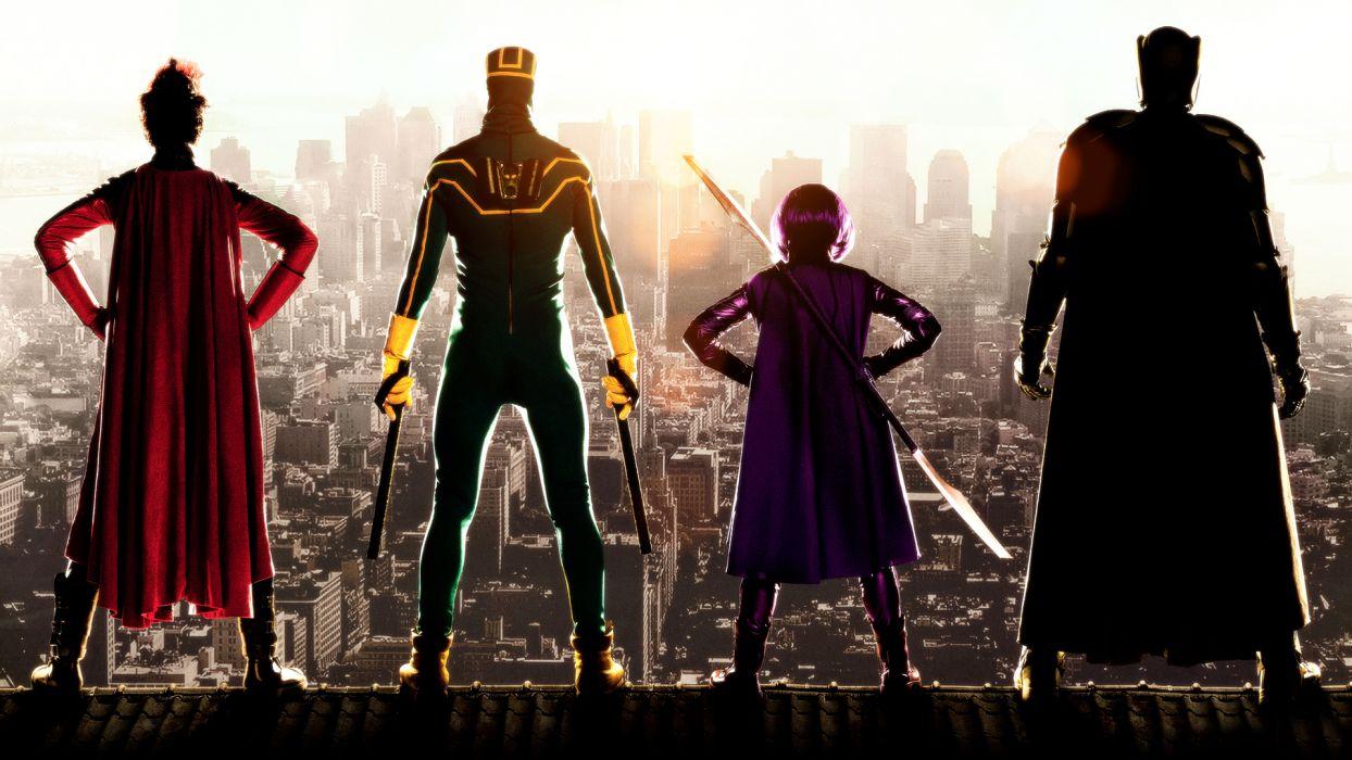 KICK ASS superhero wallpaper