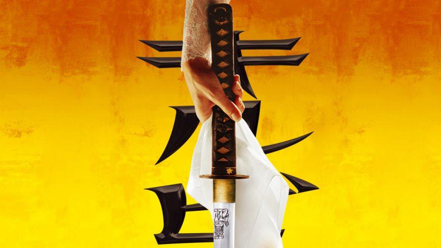 KILL BILL VOL_ 1 katana f wallpaper