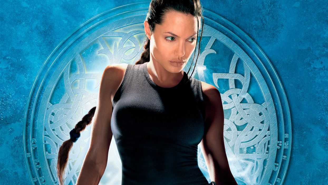 LARA CROFT TOMB RAIDER jolie wallpaper
