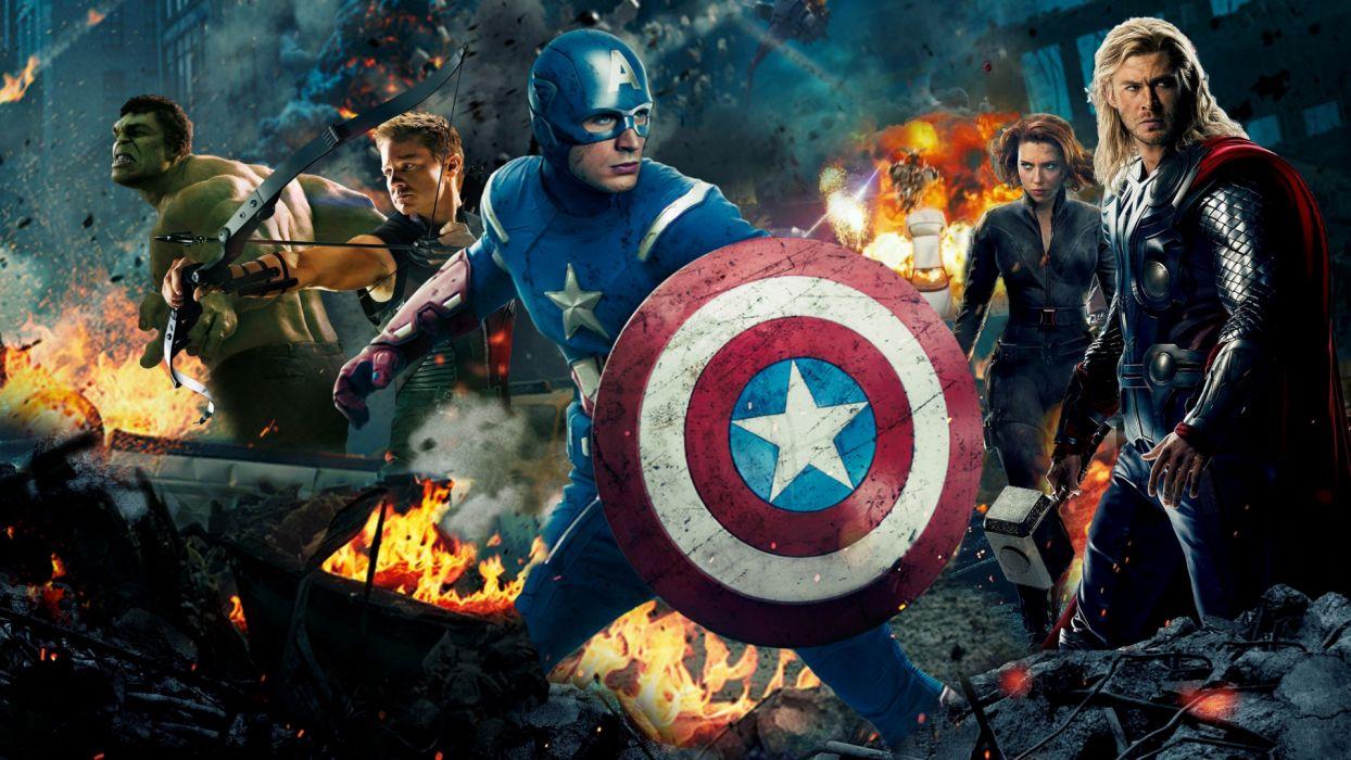 MARVELS THE AVENGERS superhero      fs wallpaper