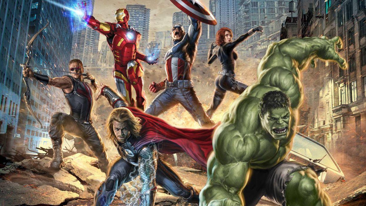 MARVELS THE AVENGERS superhero    b wallpaper