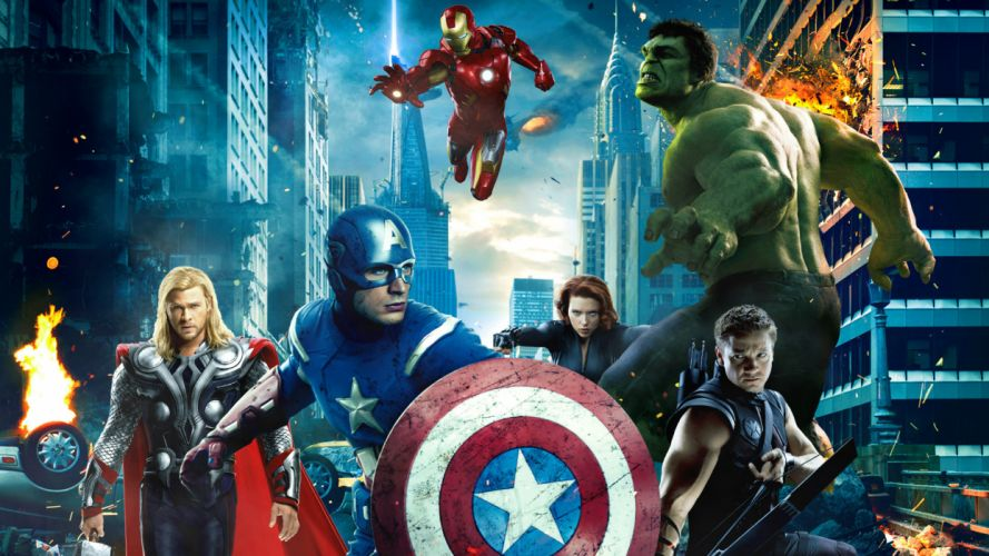 MARVELS THE AVENGERS superhero x wallpaper