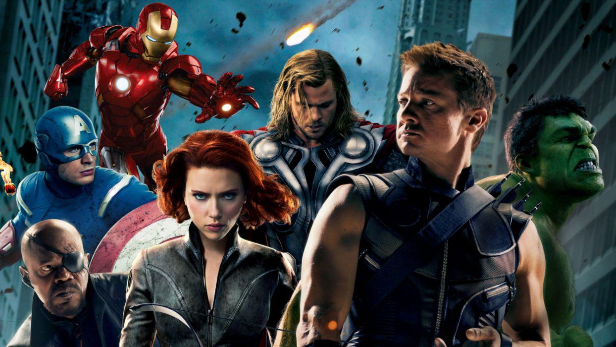MARVELS THE AVENGERS superhero c wallpaper