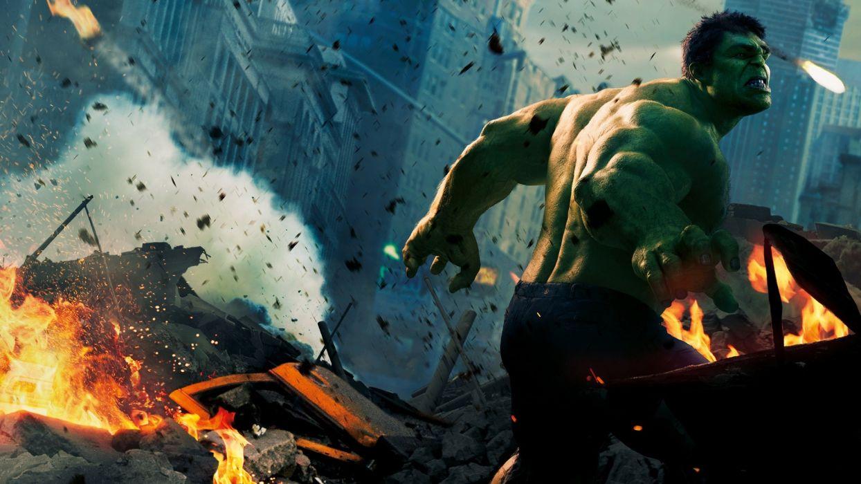 MARVELS THE AVENGERS superhero hulk  ff wallpaper