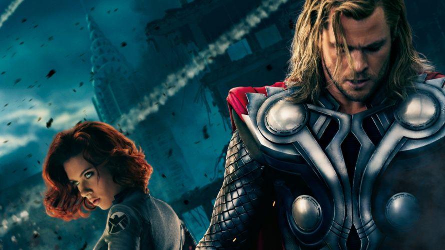 MARVELS THE AVENGERS superhero thor wallpaper