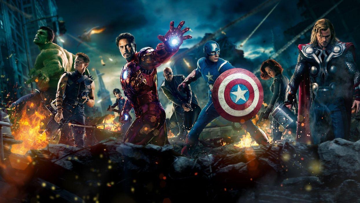 MARVELS THE AVENGERS superhero wallpaper