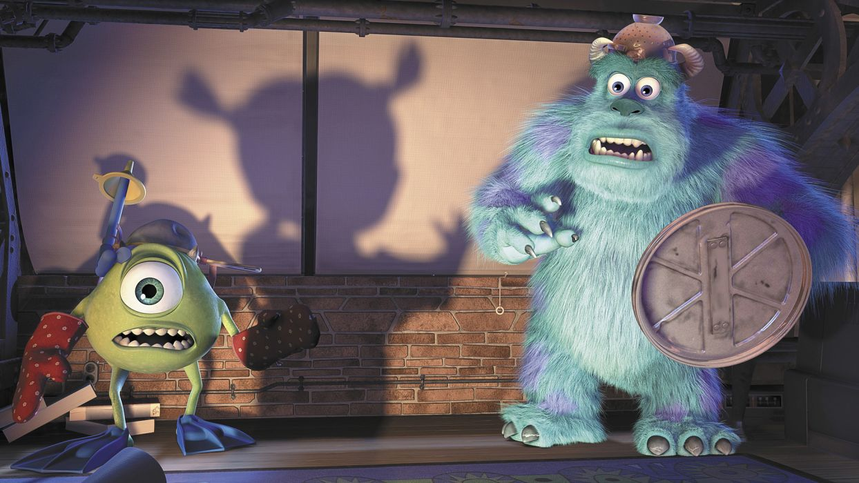 MONSTERS INC     f wallpaper