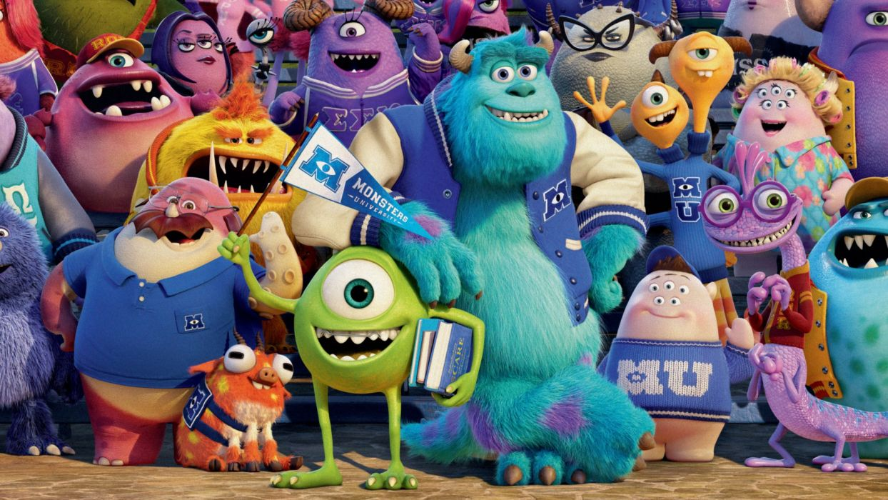 Monsters university f wallpaper 1920x1080 102317 wallpaperup monsters university f wallpaper voltagebd Images