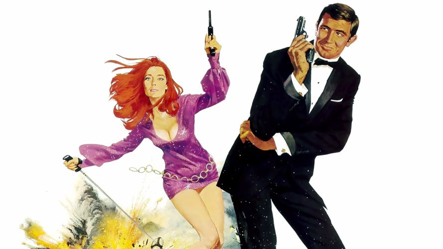 ON HER MAJESTYS SECRET SERVICE 007 james bond wallpaper